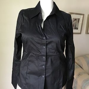 NWT - H&M black shirt